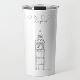 UK Big Ben Travel Mug