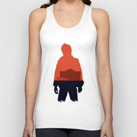 marty mcfly Tank Tops featuring Marty! by JM Illustration