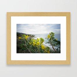 Flower Power - Malibu Framed Art Print