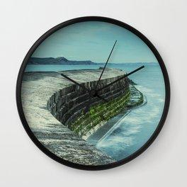 Twisty Harbour Wall Wall Clock