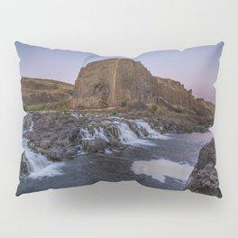 Palouse Falls - Waterfall Sunset Pillow Sham