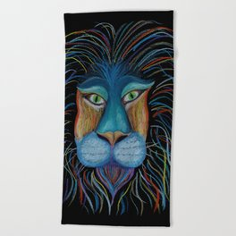 Colorful King Beach Towel