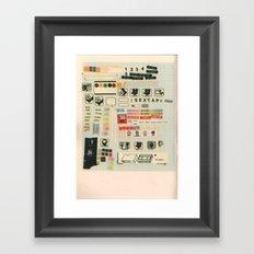sextape Framed Art Print