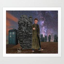 10th Doctor 2 Art Print