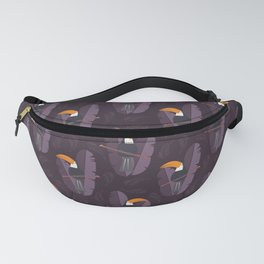 Toucan pattern 002 Fanny Pack