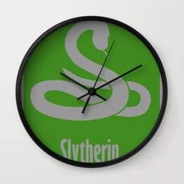 Slytherin Wall Clock