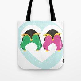 Pinguini innamorati Tote Bag