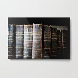 Book Smart Metal Print