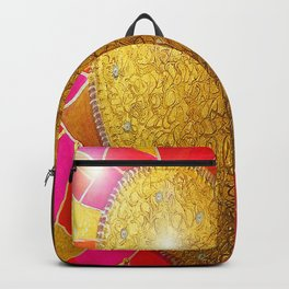 Heart of Glass - Drawing - Heart Series Backpack