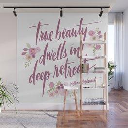 True Beauty Wall Mural