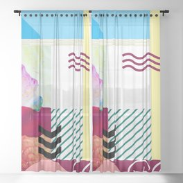 Wonder of Color Sheer Curtain