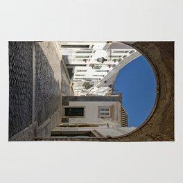 The old town Faro, Algarve, Portugal Rug