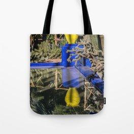 Majorelle Garden Reflection Tote Bag