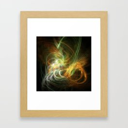 Design Background illustration with high detail and vibrant colors Framed Art Print