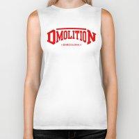 sports Biker Tanks featuring DMolition Sports by DMolition