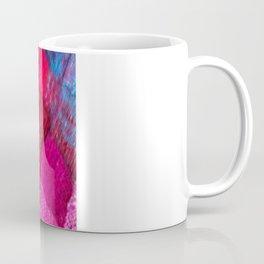 Red Entrelac Coffee Mug