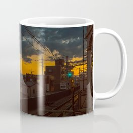 Tokyo Nights / Sunset over Fuji / Liam Wong Coffee Mug