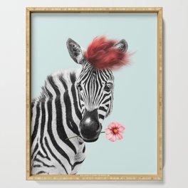 Zebra cool Serving Tray
