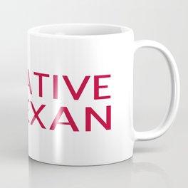 Native Texan with Texas Shape and Star Coffee Mug