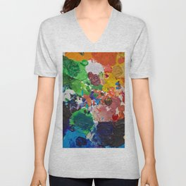 Palette of Colors Unisex V-Neck