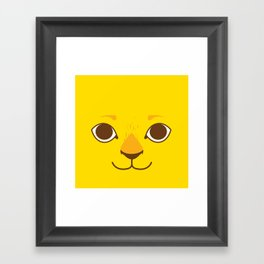 Little Lion Framed Art Print
