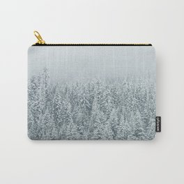 White Forest Carry-All Pouch