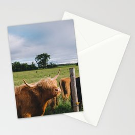 Highland Cows III Stationery Cards