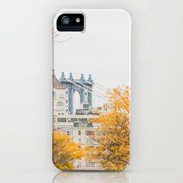 Brooklyn Autumn iPhone Case