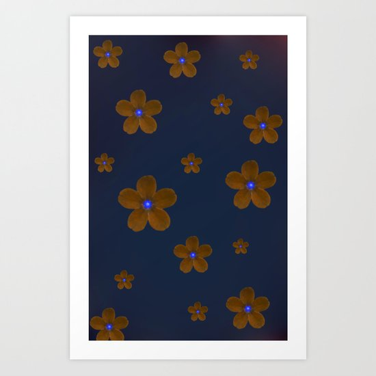 Forget me not 2 Art Print