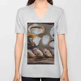 Baguette, french bread, du pain, food Unisex V-Neck
