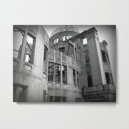 Genbaku Domu (Atomic Bomb Dome, Hiroshima, Japan) Metal Print