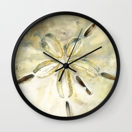 Dollar in the Sand Wall Clock