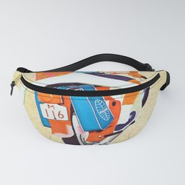 Bermuda by Clipper - Vintage Air Travel Travel Poster Fanny Pack