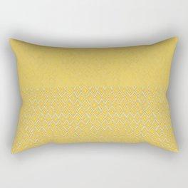 HAPPY YELLOW Rectangular Pillow