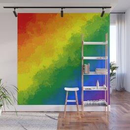 LGBT Flag Watercolour Wall Mural