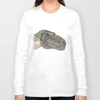 t rex Long Sleeve T-shirts featuring T-Rex by Raffles Bizarre