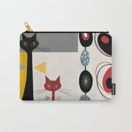 Mid-Century Modern Art Cats Carry-All Pouch