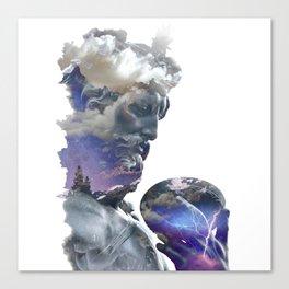 Zeus 2 Canvas Print
