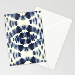 BOHEMIAN INDIGO BLUE Stationery Cards