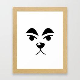 KK Slider Framed Art Print