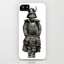 Japanese Armor Pencil Draw iPhone Case