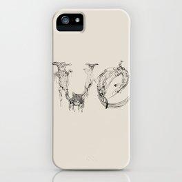 Ve - Meaw iPhone Case