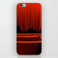 theatre iPhone & iPod Skins featuring Classic Theatre by creations by Cinnamon