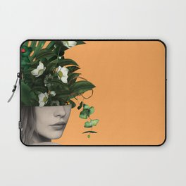Lady Flowers Vlll Laptop Sleeve