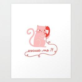 CatCall Art Print