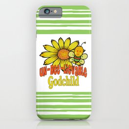 Unbelievable Godchild Sunflowers and Bees iPhone Case