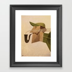 Reginald Framed Art Print