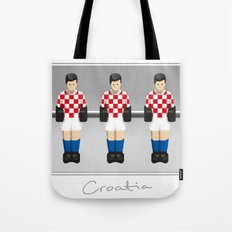 table football - Croatia Tote Bag