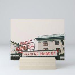 Pikes Place- Seattle Mini Art Print