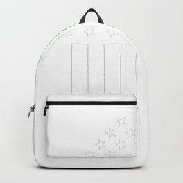 Cincinnati Irish graphics by Howdy Swag design Backpack